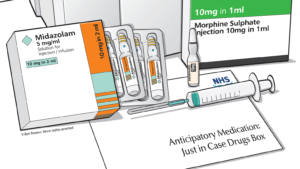 New insights into the advance prescribing of injectable medications at the end of life